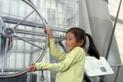 "Hands-on ""Connections"" Exhibit at New York Hall of Science"