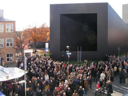 "Gregor Schneider's ""END"" installed at Mönchengladbach Museum in Germany"