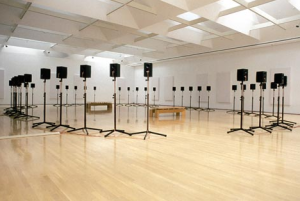 "Janet Cardiff's ""Fourty Part Motet"""